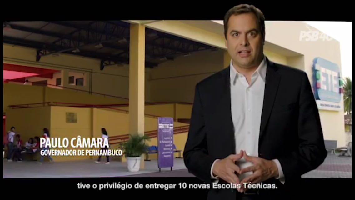 Inserções PSB – Pernambuco tem melhor Educação do País