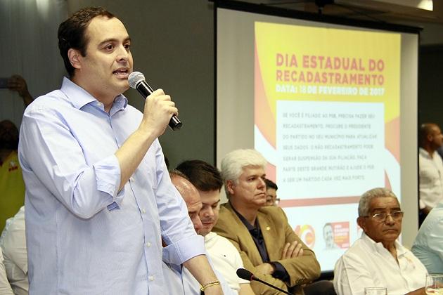 PSB em Pernambuco reúne lideranças socialistas em evento de lançamento da Agenda 40