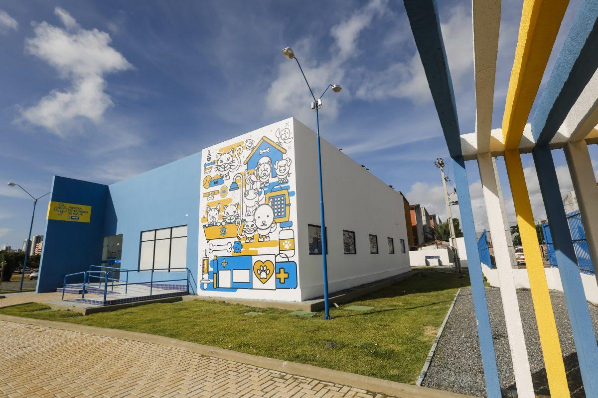 Recife recebe o primeiro Hospital Veterinário público do Norte e Nordeste