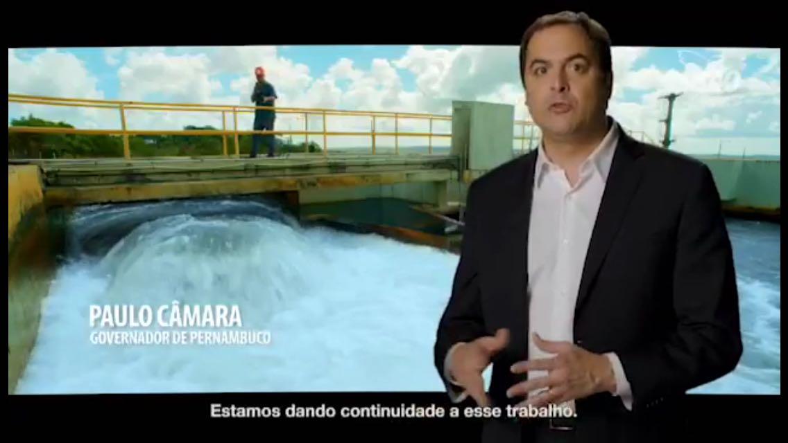 Inserções PSB – Governo Paulo Câmara investe mais de R$ 800 mi em Recursos Hídricos