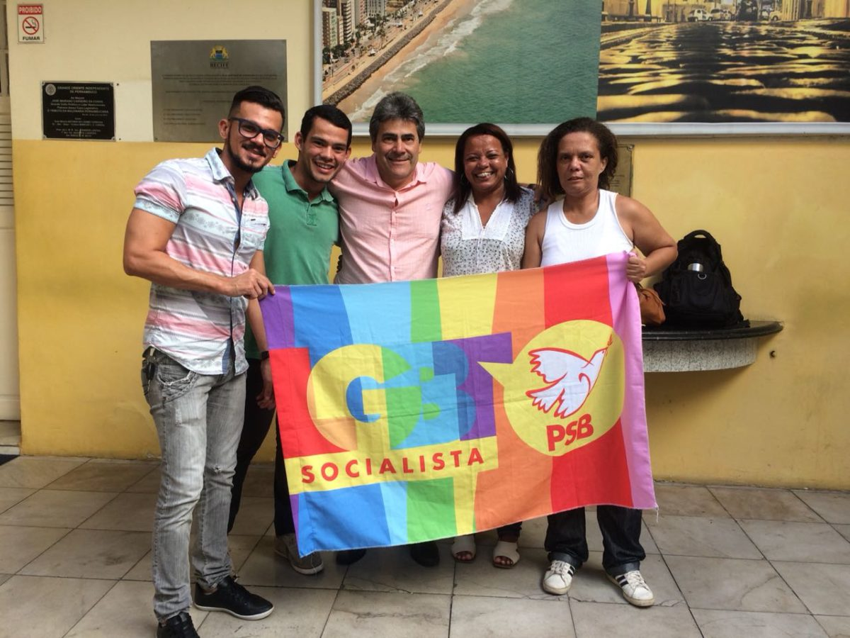 SEGMENTO LGBT RECIFE PROMOVE ENCONTRO COM VEREADORES SOCIALISTAS
