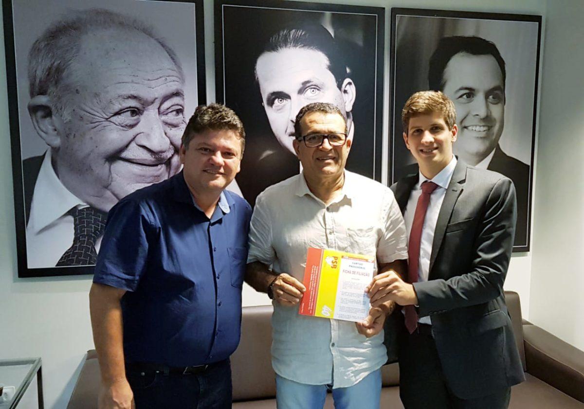 Ex-vereador recifense Nildo Resende se filia ao PSB
