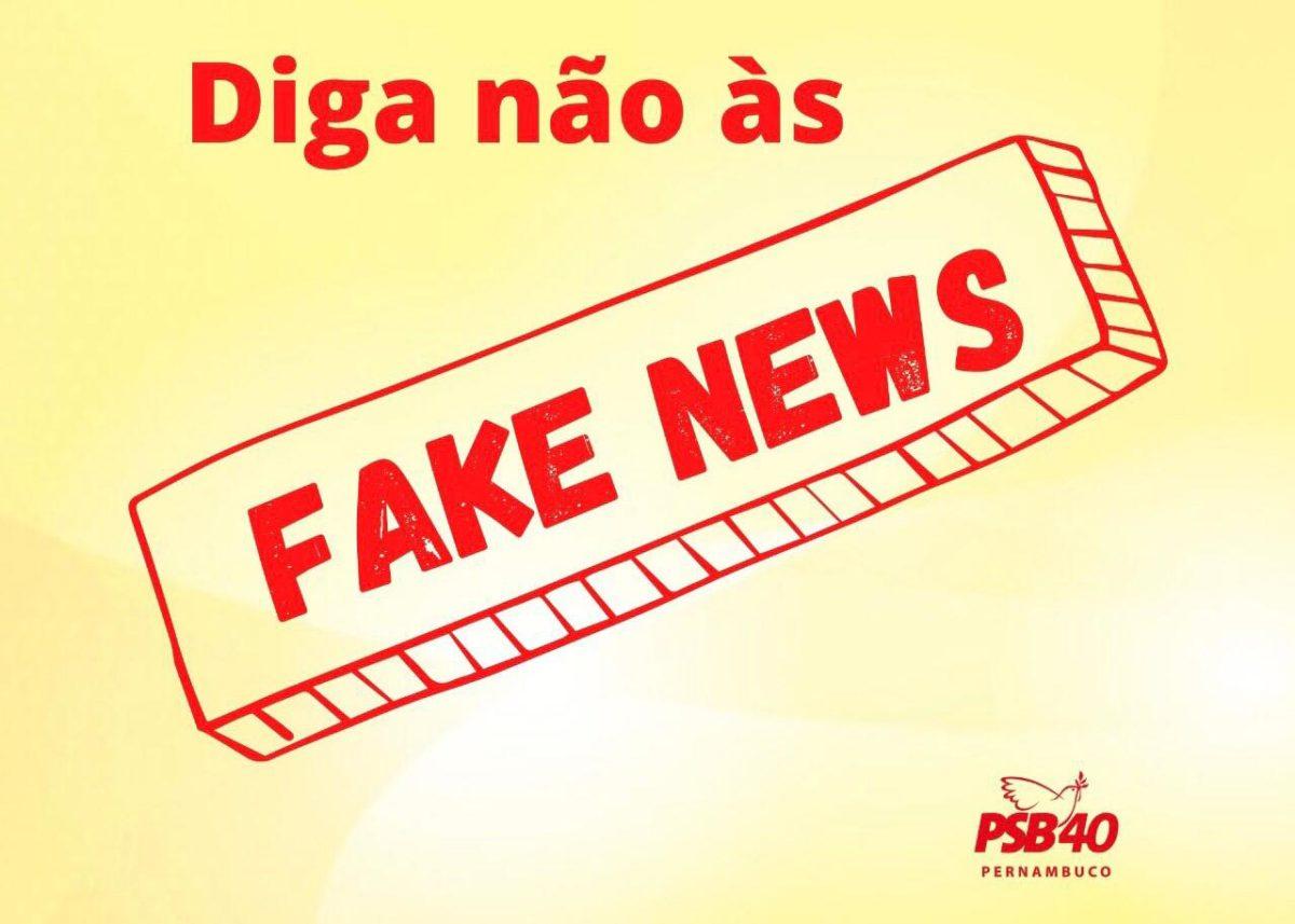 PSB aciona Justiça contra divulgação de fake news